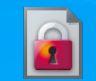 hbnファイルの開き方 先方からhbnファイルとパスワードが届きました。 メールにファイルを保存した後、名前の変更で拡張子をexeに変えると記載があったのでやったところ、画像のような赤い鍵のアイ...