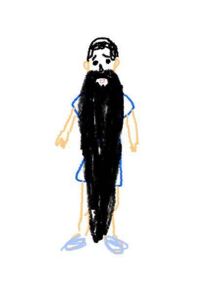 サッカーについて質問です。このくらいの髭でも上手ければ代表選手になれますか?ルール違反じゃないですか??