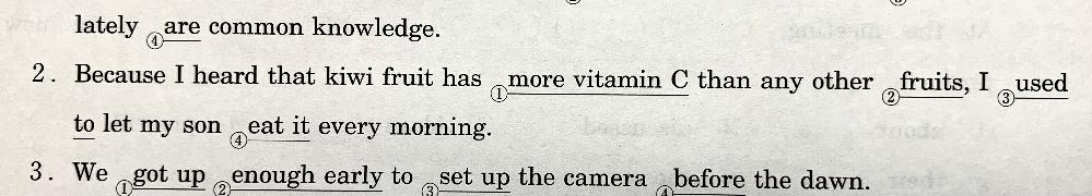 この(2)の文章を訳してもらえませんか?
