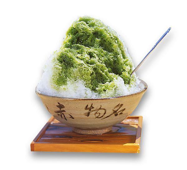 赤福氷の緑のとこって 何をかけてあるんですか? 抹茶??