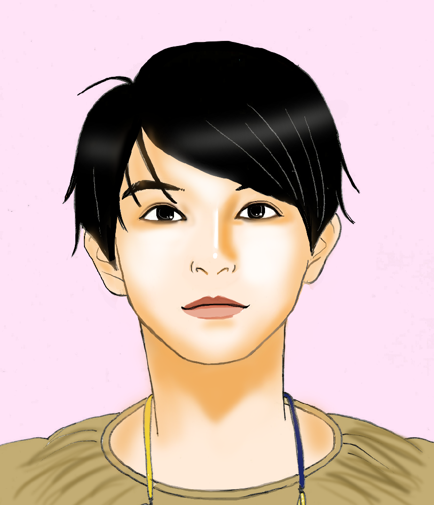 吉沢亮さん第二弾です。見えますか?見えませんか?