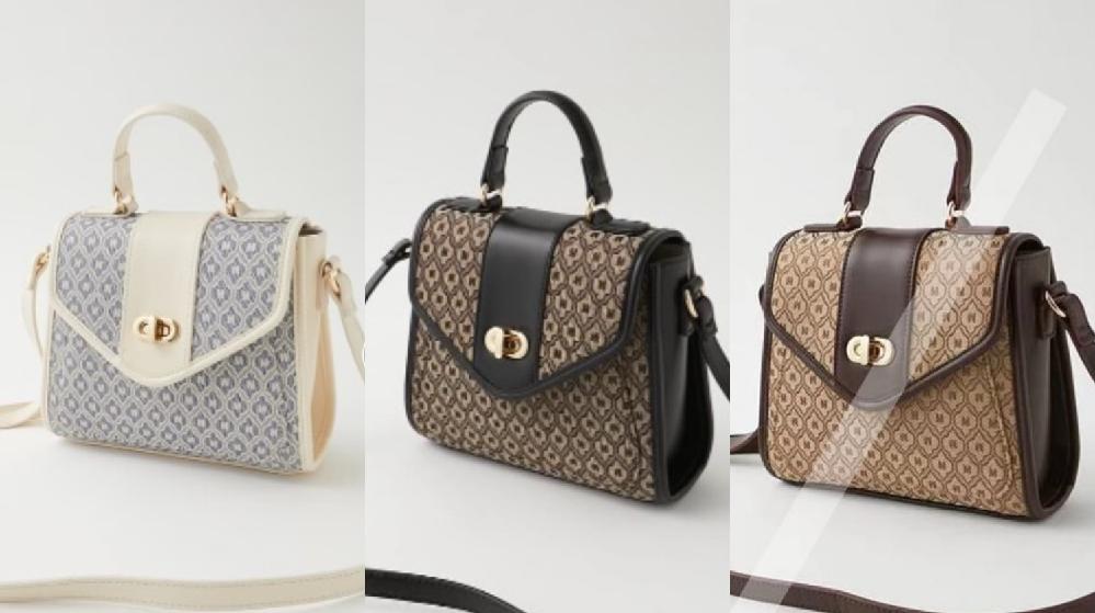どの色のバッグが可愛いと思いますか?