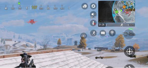 CODモバイルの新バージョンについててです。敵が来た時に赤く表示が出るのを消したいのですがどの設定で消せますか?