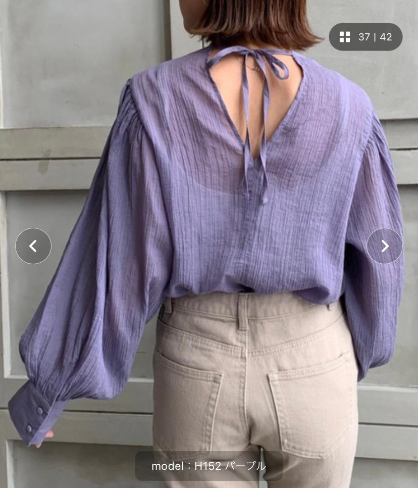 このような洋服を買ったのですが 少し背中が開きすぎだと思い 3~5cmほど縫おうかと思うのですが 裁縫は得意ではないので なにか別の良い方法はないですかね? 無いなら頑張って縫いたいと思います…
