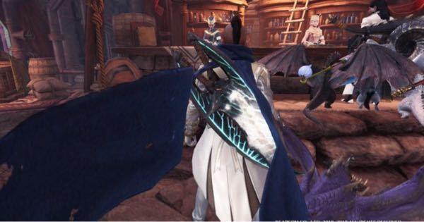 先日集会エリアでこのような双剣を目にしたのですが、 なんの双剣か分かる方いますか。