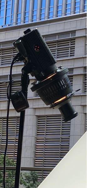 写真のライトについてる部品の名前を知りたいです。