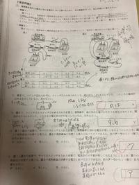 中学理科 物理 電気、回路の分野で質問です。 問題を解いていて、このページの(2)が、正答は2Vなのですが、どうしても2Vな理由がわかりません。(何度解いても3.6Vになります) どうしてこの問題の答えが2になるんですか?  画像添付しました。私の汚い文字は気にしないでください……