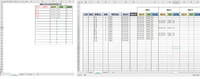 "VBA素人で申し訳ないです。 Sheets(""Sheet1"")Range(""O3:R"")の行に抽出したデータが下方向に順不同で同様に抽出されます。 Sheets(""Sheet1"")のO列に抽出された文字とSheets(""Sheet2"")のD列と一致する行のI列から右側の空白部に貼付けしたい ただSheets(&q..."