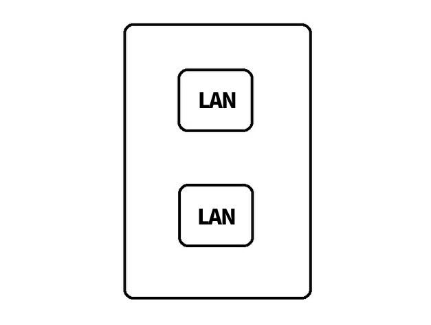 LANぽーとについて 同じ部屋にLANケーブルを2本増設している方はいますか? やはりハブを使った方がいいでしょうか?