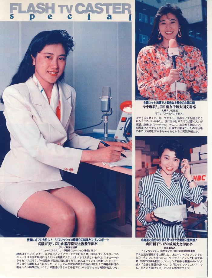 テレビ局の女性アナウンサーの採用試験の受験資格が大学卒業(見込み)となったのはいつ頃ですか?