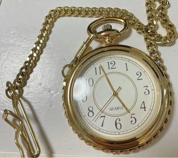アンティーク品の懐中時計が家から見つかったのですが、メーカー名も何も書かれておらず、裏面も何も書いてません。Quartzの時計ということだけが分かります。誰かこの時計の詳細を知る人はいますか?。