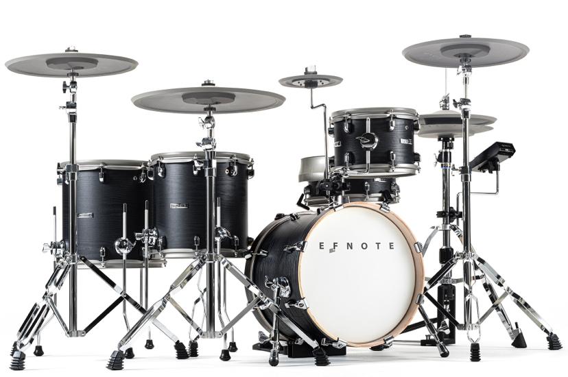 こんにちは〜! 最近EFNOTEの電子ドラムカッコいいな〜と思っています。ATVの電子ドラムの二番煎じのような電子ドラムですが、個人的にデザインはこっちのほうが好きなんですよね。 EFNOTE...