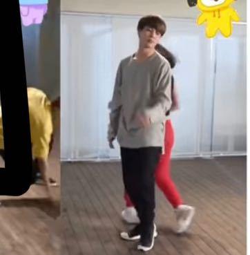 BTS ここは昔の事務所の練習室ですか? ホビとジミンのダンス練習の動画を見て気になりました