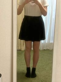 この足の太さでスカート履いてもいいと思いますか… ?またどうやったら足細くなれますか… 足だけ太くて困ってます。
