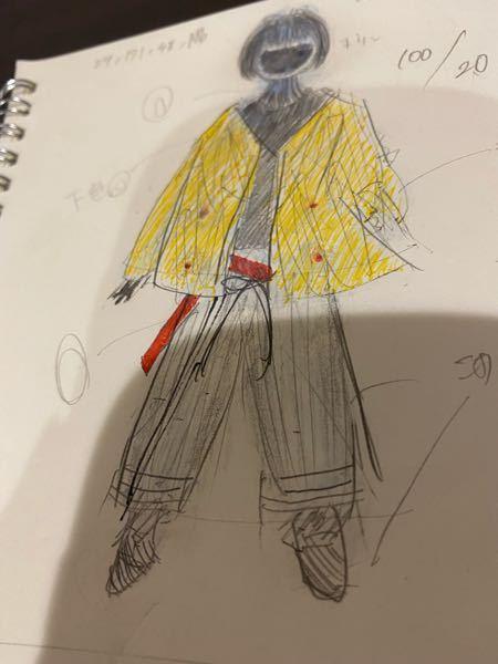 ファッション 妹の机に置いてありました。彼女はスタイリストを目指しています。このファッションは何点ですか?