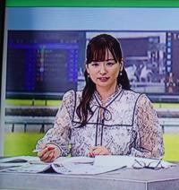 競馬番組に帰って来た皆藤愛子キャスター、相変わらず可愛いね。どうかにゃ。