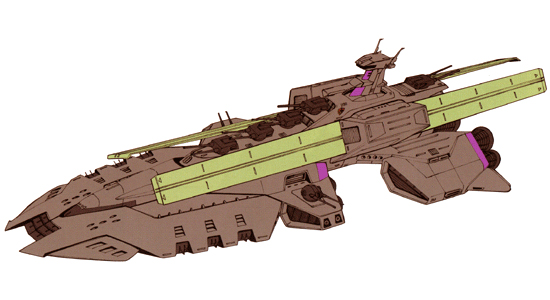 ガンダムの旧キットじゃないプラモで戦艦あったら教えてください。 ザムスガルは無かった(TT)