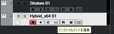 Cubaseにて、画像のシンセを使おうとしても、インストゥルメントを編集がクリックできなくなってしまいました。 hybrid3以外の一部シンセがこの状態になってしまっています。 シンセの再インストール・Cubaseの再インストールも試したのですがだめでした。 解決方法がわかる方よろしくお願いします。 環境 Windows10Pro 21H1(もしかしたら古いかも) Cubase11 Artist トラブル対象のシンセ hybrid3・Stratum・Xpand!2です。