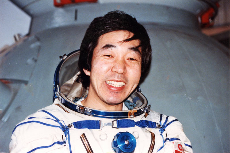 Is this the first Japanese cosmonaut?