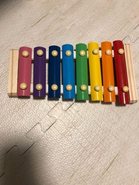 フライングタイガーでこの鉄琴を買ったのですが、ドレミファソラシとやると、ラシドがちょっとずれた音になっています。 直し方ってあるのでしょうか?