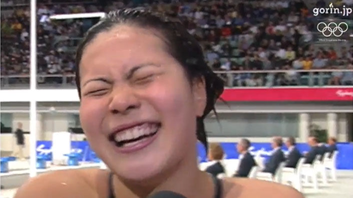 2000年のシドニーオリンピック競泳400m個人メドレーで銀メダルを獲得した田島寧子さんはその後6年間ほど女優だったそうですが、演技力はどうでしたか?