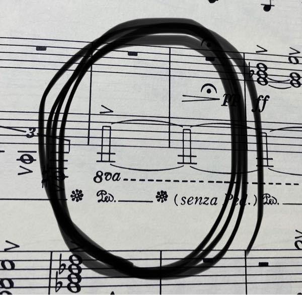 ピアノの楽譜なんですけど、これはどうやって弾いたらいいのですか?
