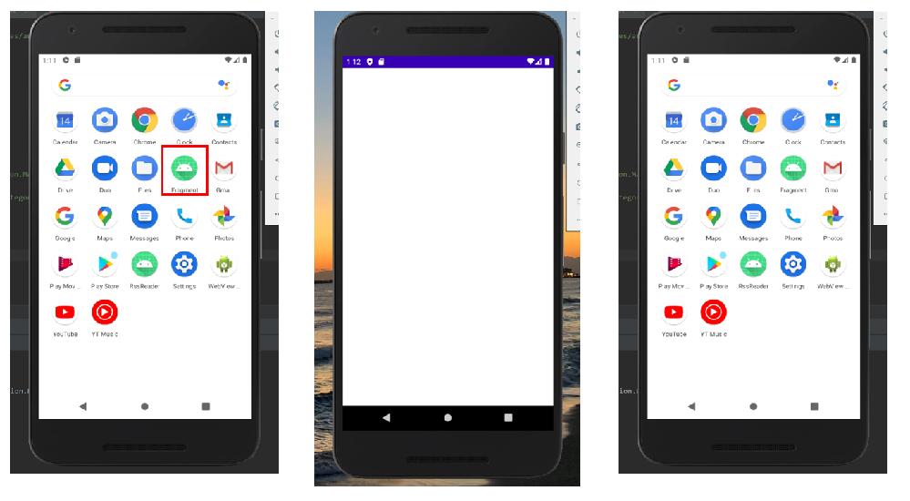 Android Studioにてアプリケーションを独学開発中です。 コードの実装が完了し、エミュレータでアプリを起動したのですが、 添付の画像の通り、起動しそうになってすぐ落ちてしまいます。 ...