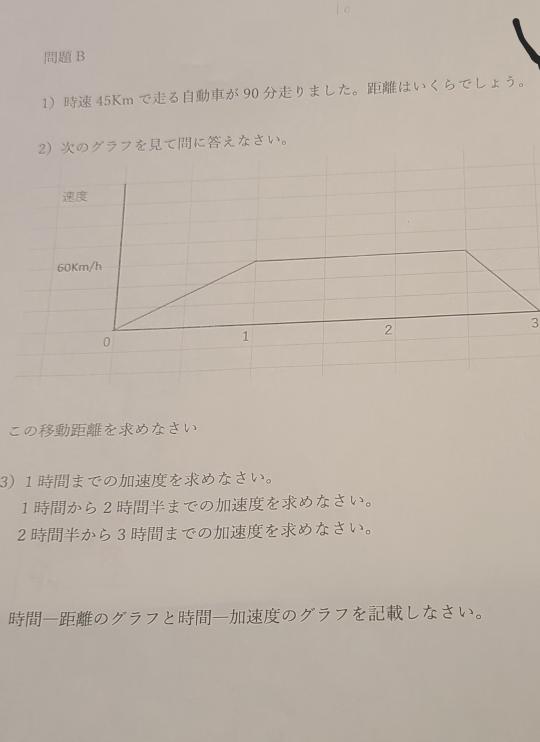 このプリントの解き方が分かりません。問題Bです。投げやりだと思いますが助けてください。全部助けてくださいとは言いませんのでなんと調べれば解けるのか教えてください