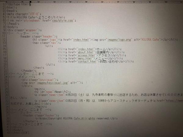 HTML.CSSを独学で勉強しています。 「スラスラわかるHTML &CSSのきほん」という本で勉強しています。 今CSSの章に入ったのですが、本の指示通り(HPの背景色をグレーにする)に記述しても反映されません。 HTMLを記述した写真を載せますので、申し訳ありませんが添削をお願い致します。