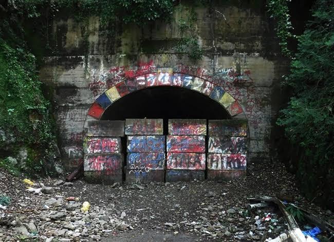 旧犬鳴トンネルはなぜブロックで閉鎖されてるんですか?