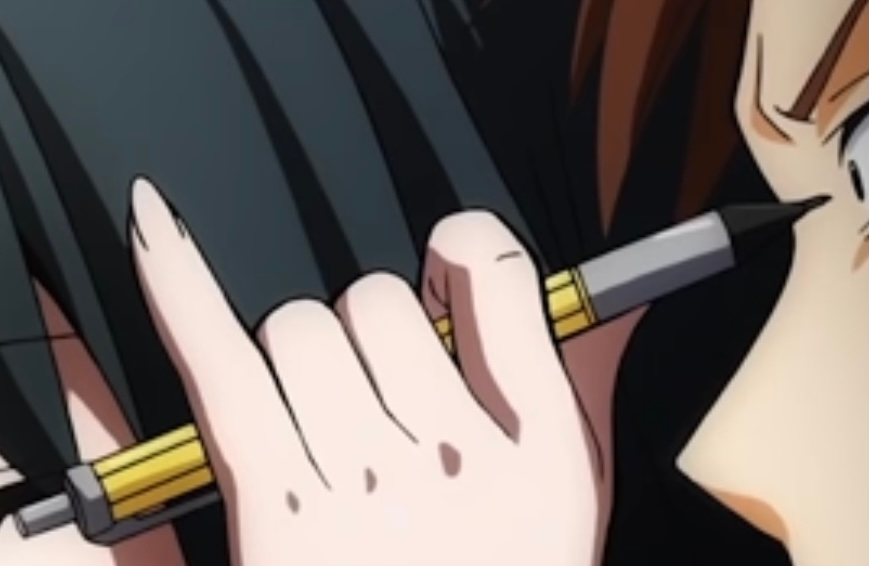 暗殺教室に出てくる潮田渚などが使っているシャーペンが欲しいんですが、その見た目が似てるシャーペンがあれば教えてください 参考程度にどうぞ⤵︎ ︎