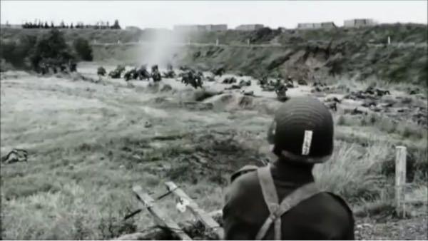 この映画の題名教えて下さい。 このシーンはアメリカ軍兵士がドイツ軍に横槍入れてドイツ軍は後ろに逃走します。
