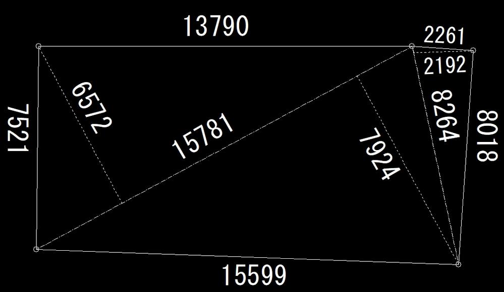 Jw_cadについて こちらの図面を限界までコマンドの「線」と「円(円弧)」を使用して作図しました。 しかしやはりといいますか限界があり、最後に少し「2点角」を使用し完成させました。 Jw_ca...