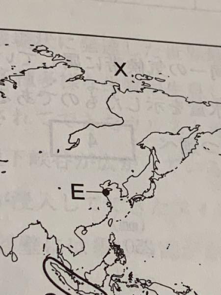 もし写真の河川Xがバイカル湖付近に源があると知らなかったら、どうやれば河川Xが海の方向へ流れていくと判定できますか?