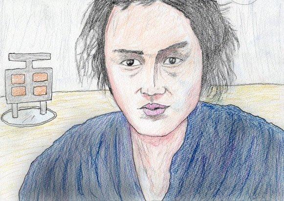 石橋蓮司の中岡慎太郎です。 どうですか皆さん?