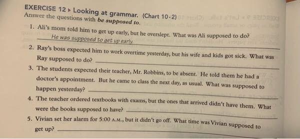 3、4、5わかる方教えてください。 英語です。