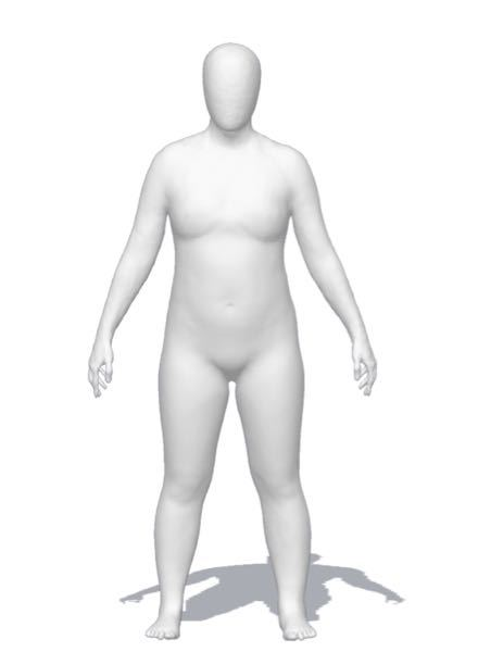 醜い体で申し訳ないですが 骨格のタイプはどれでしょうか? よろしくお願いします。