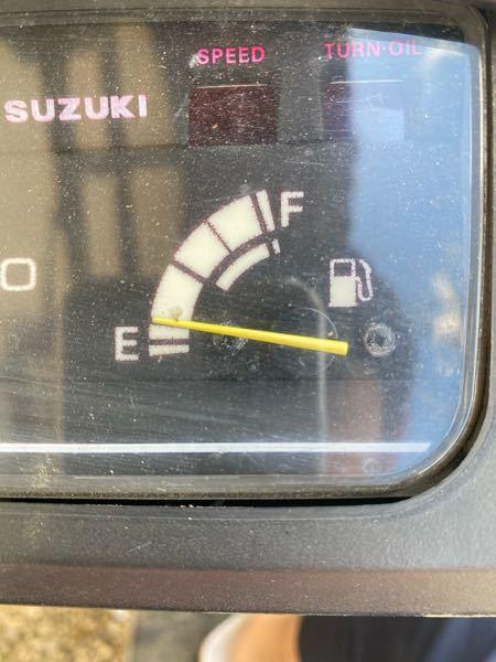 原付セピア燃費 あとどれくらい走れますか?