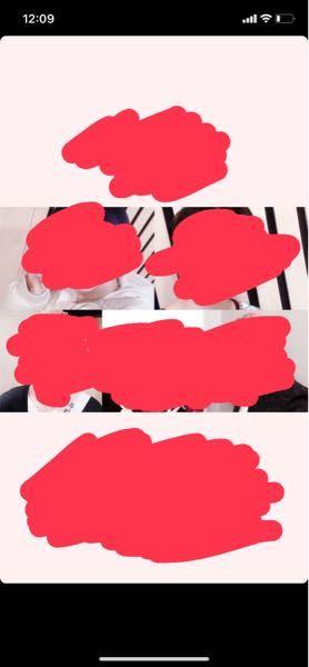 これと全く同じように5枚の写真をグリッドするアプリ教えてください…。picsartでグリッド→5枚の写真選ぶ→レイアウトから探してもこの形のがでてきません。