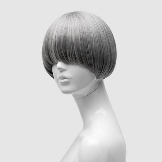 地毛で下の画像の様な髪型にしたいのですが可能でしょうか?因みにこの髪型に呼び方ってあるんでしょうか?両目が完全に隠れるようにしたいです。