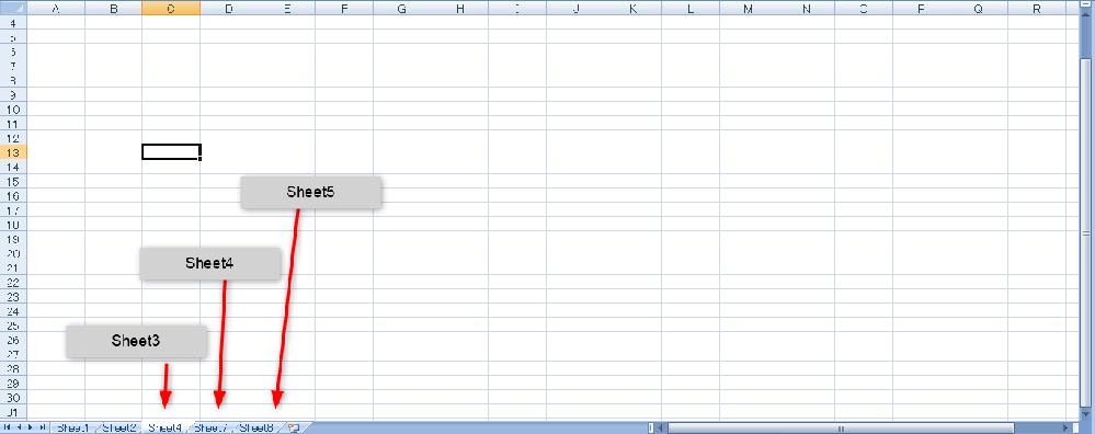 マクロ sheet名をブックの左端から順番に Sheet1,Sheet2,Sheet3のように数字を連番にするマクロを教えていただければと思います。 途中でSheet1,Sheet2,Sheet4のようになっていても、Sheet4の名称をSheet3に強制的に直すといった具合です。 画像を参考にいただければと思います お手数ですが、よろしくお願いいたします。