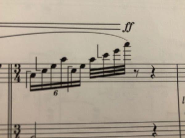音符についているL字型の記号? 意味はなんですか? その音符はどうなるんですか?