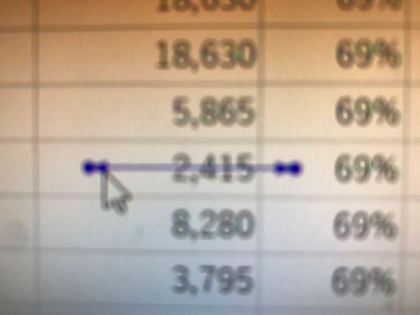 エクセルに青い矢印のようなものが出ます。 これは何ですか? 消す方法はありますか?