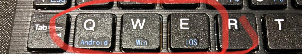 赤で囲っている部分は、何ですか? スマホ用キーボードです。