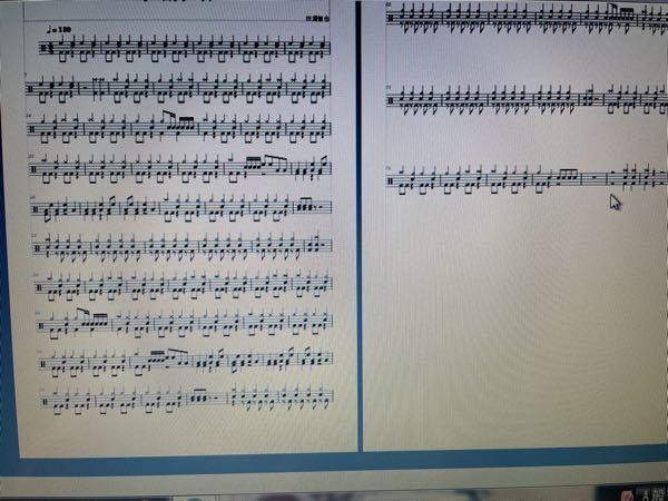muse scoreについてです。楽譜の2ページの縦の小節間が1ページよりもおっきくて不揃いで気持ち悪いのですがどうやったらつめれますか?