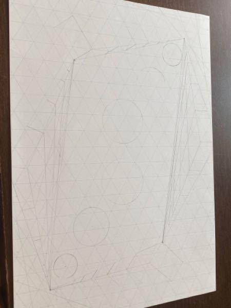 中3の美術で平面構成をやっていて周りの子よりデザインがシンプルかなと思うんですがなにかいいアイディアありますか 下書き薄くて見えなかったら申し訳ないです ♀️ 急ぎで回答お願いします ♀️ ♀️