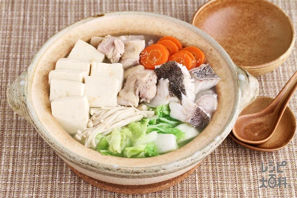 ちゃんこ鍋好き('_'?)