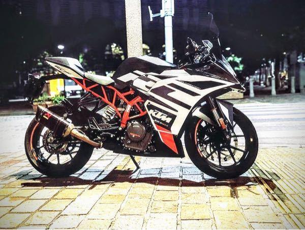 このバイクはなんて名前ですか?