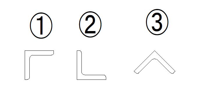 こんにちわ。 アングル(L75×75×12)を使用して、枠を作り荷物を吊上げたいのですが、 添付の画像の③の向きにしたいのですが、強度って不利になるのでしょうか? ちなみ、①②③でたわみ・許容応力度の違いは、生じるのでしょうか? 至急教えて下さい。よろしくお願いします。