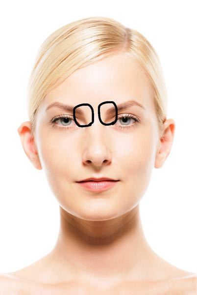 顔のマッサージで画像の丸の部分を親指で上に押し上げるやつをやるとかなり痛みを感じるのですが、相当凝ってるのかやり方が間違ってるのでしょうか? 押し続けると気持ち悪くなってくるくらい痛いです